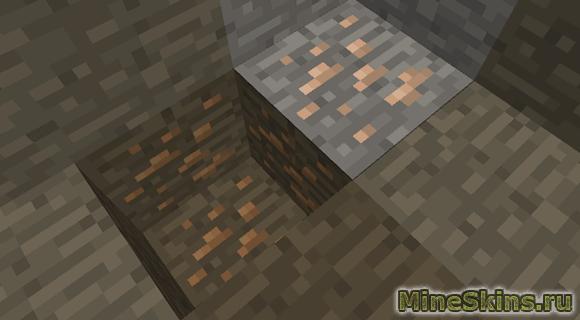 Оловянная руда майнкрафте