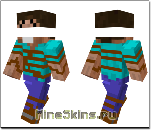 Скин Стива заложника для MineCraft
