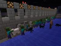 Атака зомби и скелетов