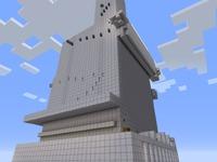 Паркур башня для MineCraft