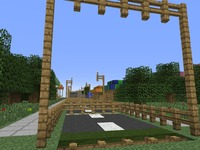 Карта бега поросят MineCraft