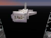 Космолет в MineCraft
