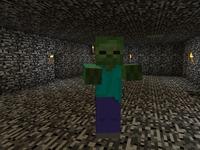 Ловушка орды зомби MineCraft
