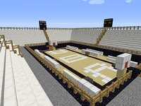 Карта MineCraft BasketBall Arena