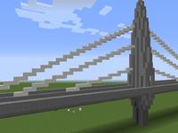 Мост в MineCraft