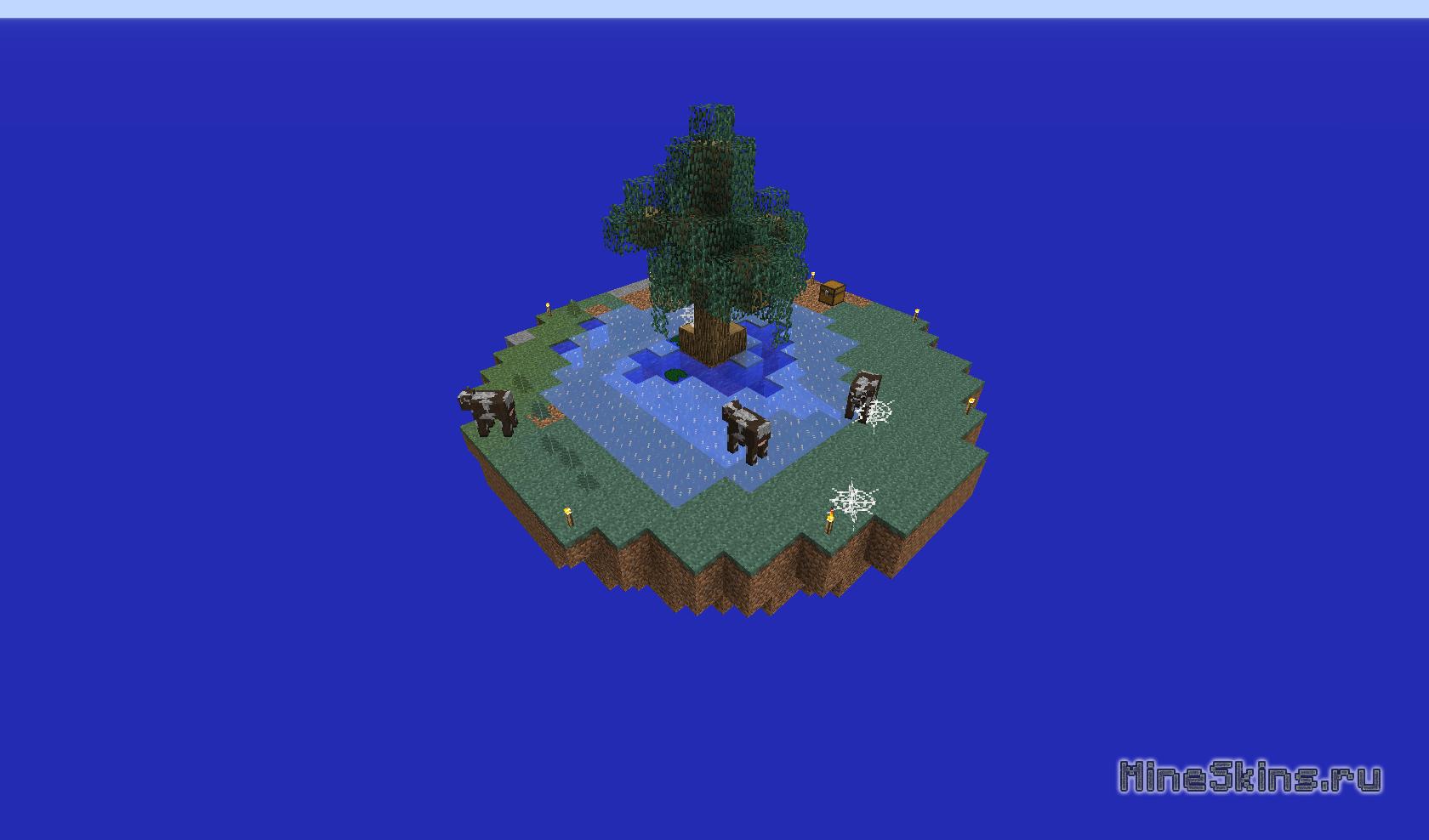 Скачать Карту на Майнкрафт 1.7.2 на Прохождение Остров