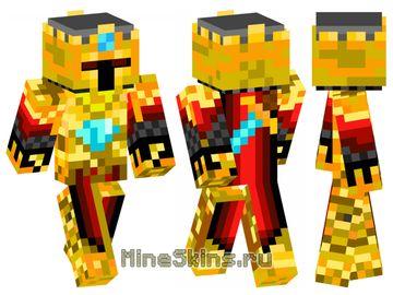 Скин  золотой рыцарь