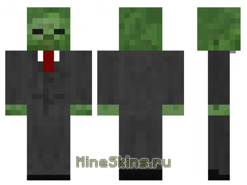 Скин  мистер зомби