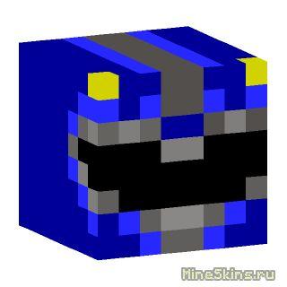 Скин  синий powerranger